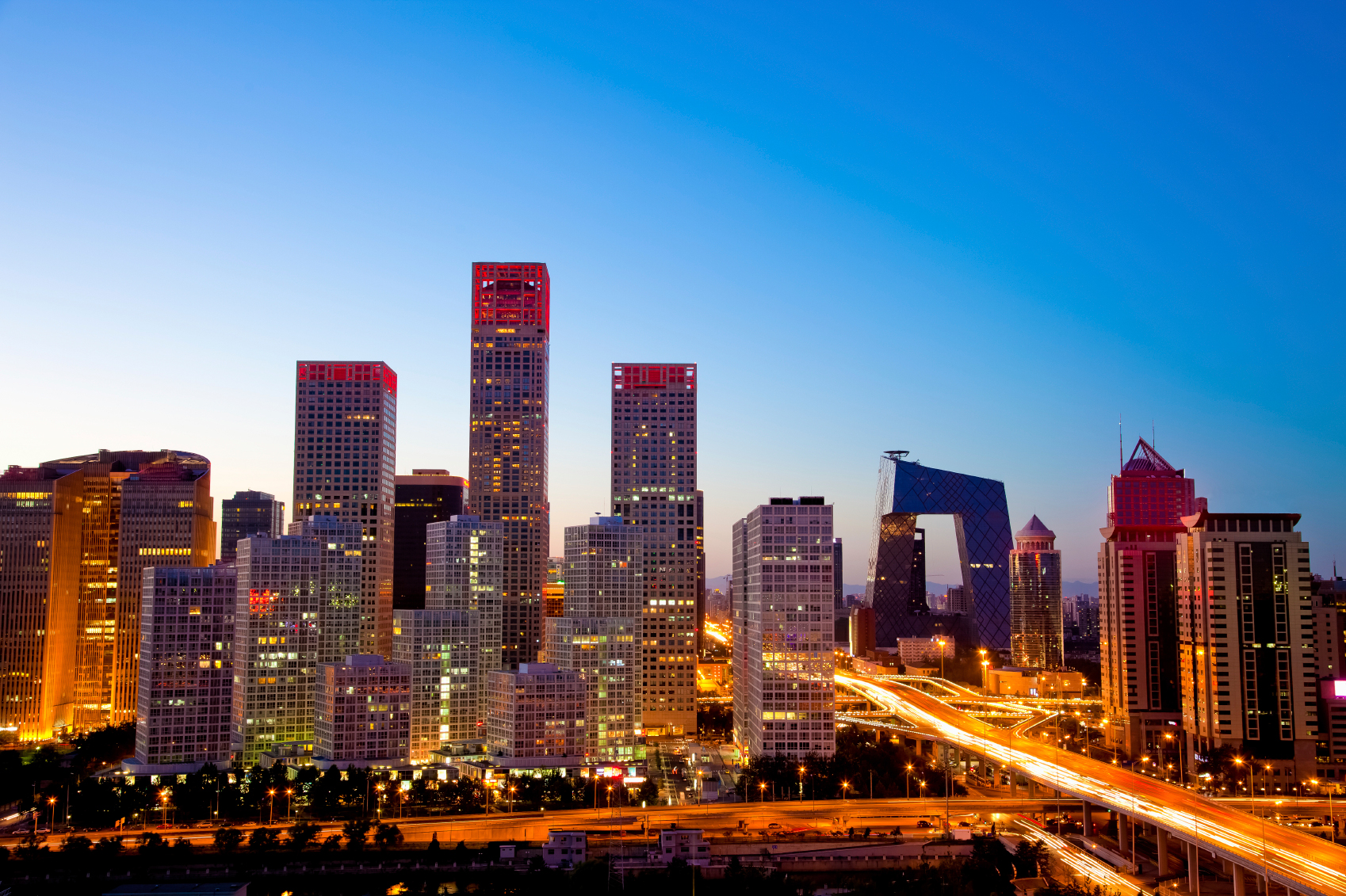 Beijing-Central-Business-District-mix-of-offices-and-apartments-china-asia-pacific