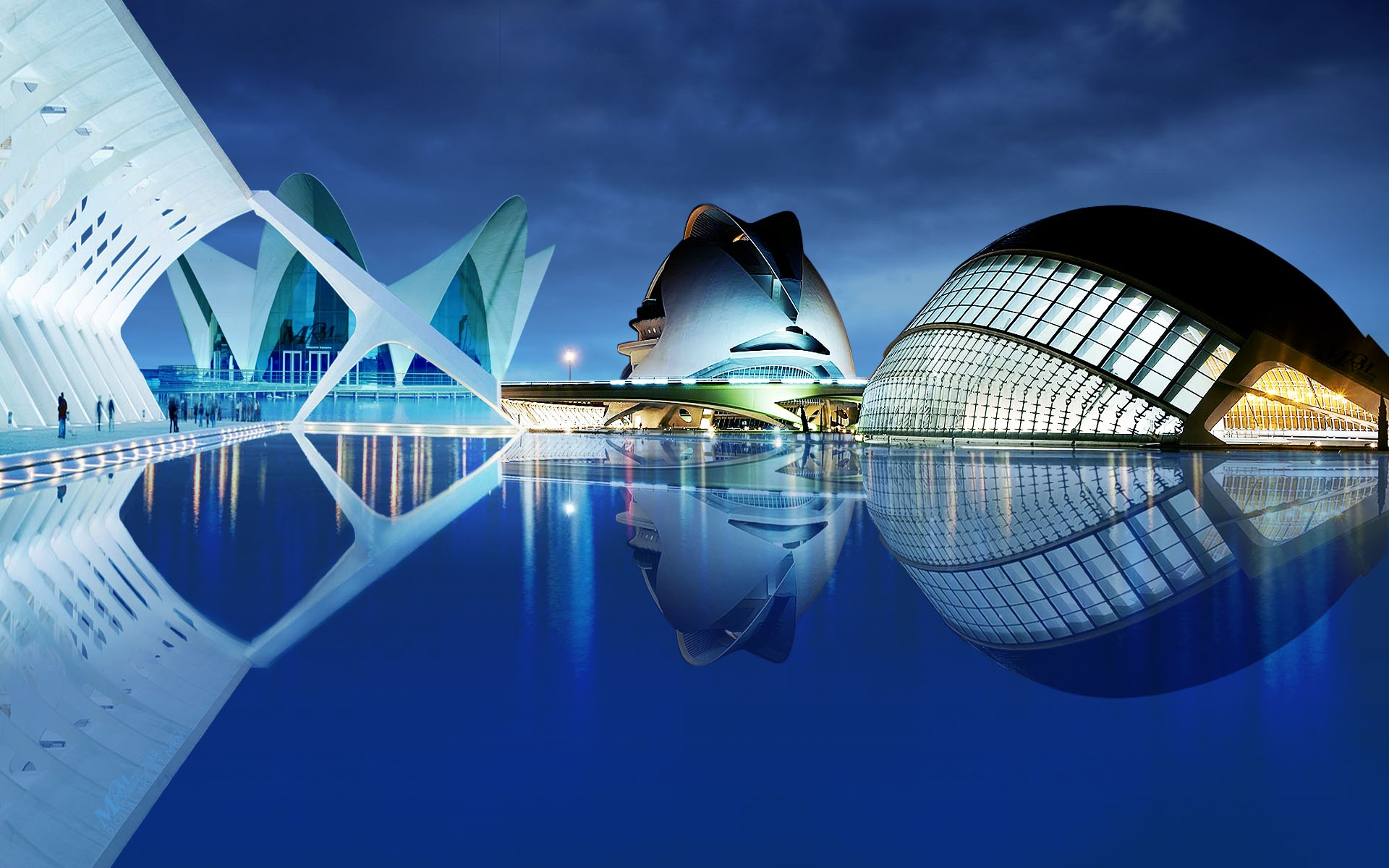 Valencia-Night-Spain